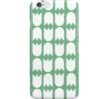 Tulip pattern green iPhone case iPhone Case/Skin