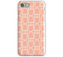 Tulip pattern salmon iPhone case iPhone Case/Skin