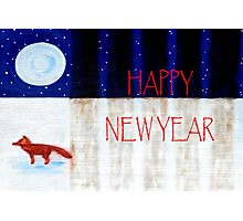 HAPPY NEW YEAR 9 Photographic Print
