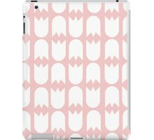Tulip pattern pink iPad case iPad Case/Skin