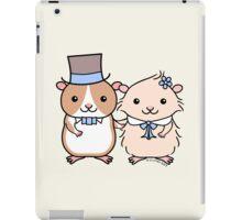 Hamster Wedding Couple iPad Case/Skin