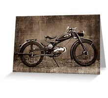 Imme Greeting Card