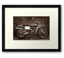 Moto Morini Framed Print