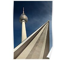 Berlin tower Poster