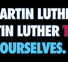 Martin Luther King Respect by RadRecorder