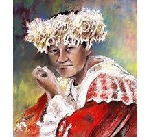 Polynesian Woman Photographic Print
