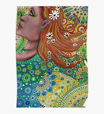 Ginger Goddess Poster