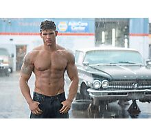 Wet Muscle Photographic Print