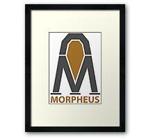 Morpheus Project Logo Framed Print