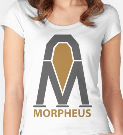 Morpheus Project Logo Women's Fitted Scoop T-Shirt
