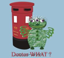 Dr WHAT I Presume - T-shirt by Dennis Melling