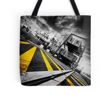 Calais Car Ferry Port Tote Bag