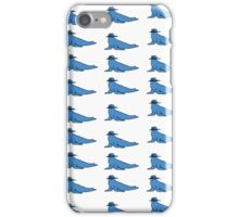 The Many Faces of SeaL! iPhone Case/Skin