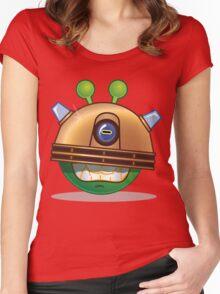'Exterminate' Alien Women's Fitted Scoop T-Shirt