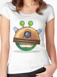 'Exterminate' Alien Women's Fitted Scoop T-Shirt