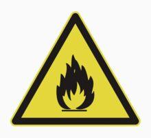 Fire Hazard Symbol by caldayjd