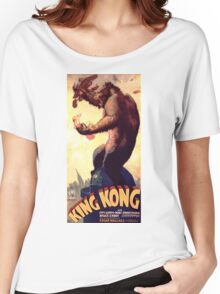 King Kong movie poster Women's Relaxed Fit T-Shirt