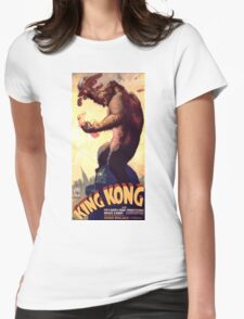 King Kong movie poster Womens Fitted T-Shirt