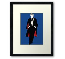 The Third Doctor - Doctor Who - Jon Pertwee Framed Print