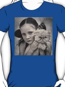 A Girl and her Cat T-Shirt