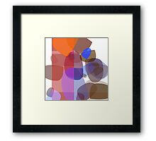 Fades within aggregate  Framed Print