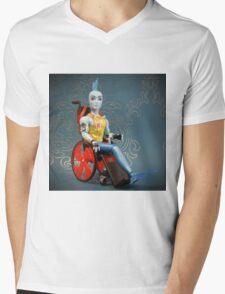 Signature - Finnagan Wake Mens V-Neck T-Shirt