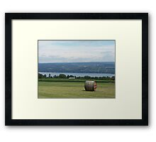 Now That's a View! Framed Print