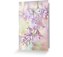 Pastel Lilacs Greeting Card