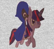 raven and twilight sparkle Kids Tee
