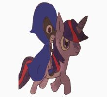 raven and twilight sparkle Kids Clothes