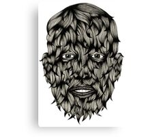 Wolf Boy Canvas Print