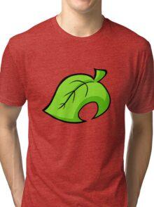 Animal Crossing - Leaf Tri-blend T-Shirt