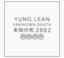 YUNG LEAN UNKNOWN DEATH 2002 by pbwlf