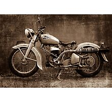 Puch GS 350 Photographic Print