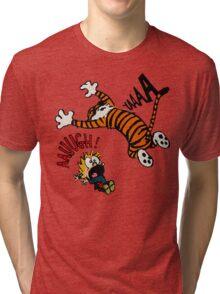 Calvin And Hobbes Fan Tri-blend T-Shirt