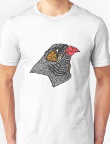 Hipster Bird Unisex T-Shirt