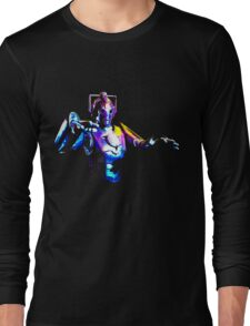 Cyberman – DELETE! Long Sleeve T-Shirt