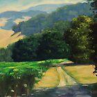 Along The Vineyard by Steven Guy Bilodeau