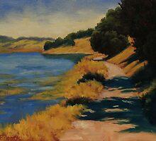 Along Rush Creek by Steven Guy Bilodeau