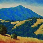 Tamalpais With Golden Hills by Steven Guy Bilodeau