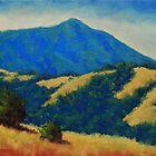 Tamalpais With Golden Hills by Steven Guy Bilodeau