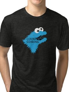 Cooking are coming Tri-blend T-Shirt