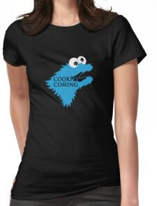 Cooking are coming Womens Fitted T-Shirt