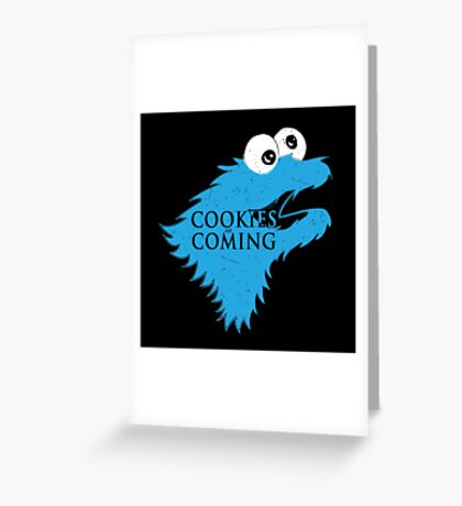 Cooking are coming Greeting Card