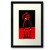 Alex's Alien! Framed Print