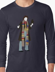 The Fourth Doctor - Doctor Who - Tom Baker Long Sleeve T-Shirt