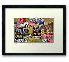 """""""Sign Language"""" Framed Print"""