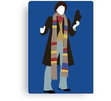 The Fourth Doctor - Doctor Who - Tom Baker Canvas Print