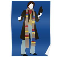 The Fourth Doctor - Doctor Who - Tom Baker Poster