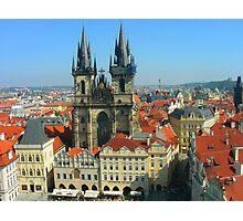 Praga.....ciudad vieja..... Photographic Print